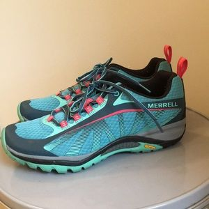 Merrell select fresh hiking shoes size 7m